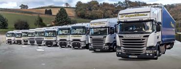 D' Agostino busca camioneros salario 2500 fijo + dietas 70, máximo 80€ día
